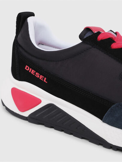 Diesel - S-KB LOW LACE, Black/Red - Sneakers - Image 4
