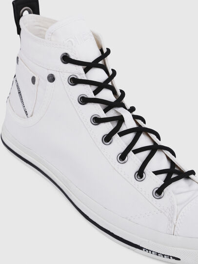 Diesel - EXPOSURE I, White/Black - Sneakers - Image 4