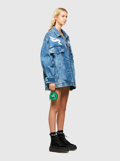 Diesel - SHOPPINA PAR, Green - Shopping and Shoulder Bags - Image 5