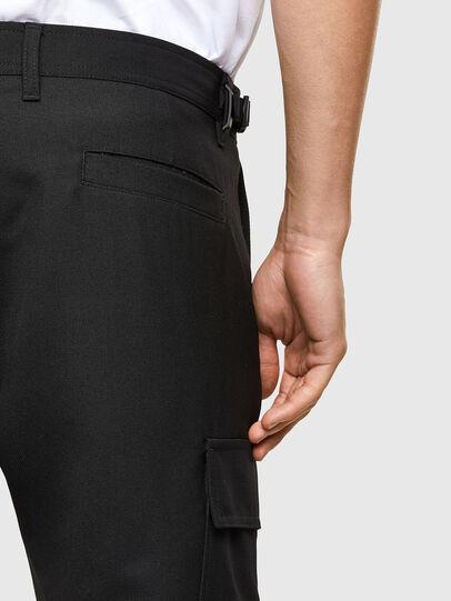 Diesel - P-HOMEN, Black - Pants - Image 5