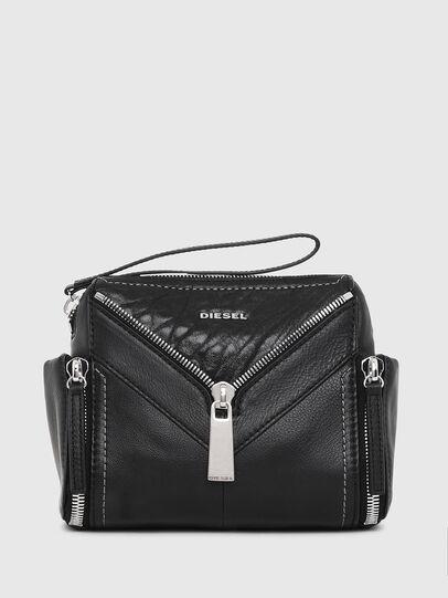 Diesel - LE-BHONNY, Black - Crossbody Bags - Image 1