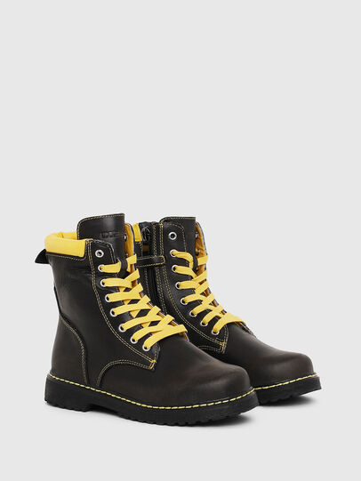 Diesel - HB LACE UP 04 CH, Black - Footwear - Image 2