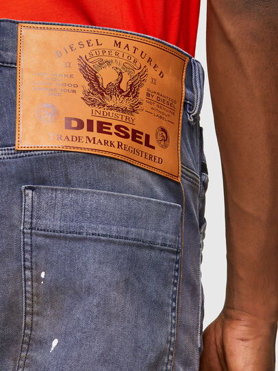 Diesel - D-Franky 009MC, Medium blue - Jeans - Image 5