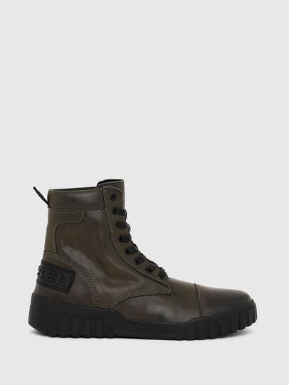 Diesel - H-RUA AM, Military Green - Sneakers - Image 1