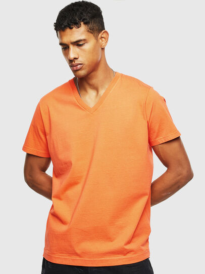 Diesel - T-THEA, Orange - T-Shirts - Image 1