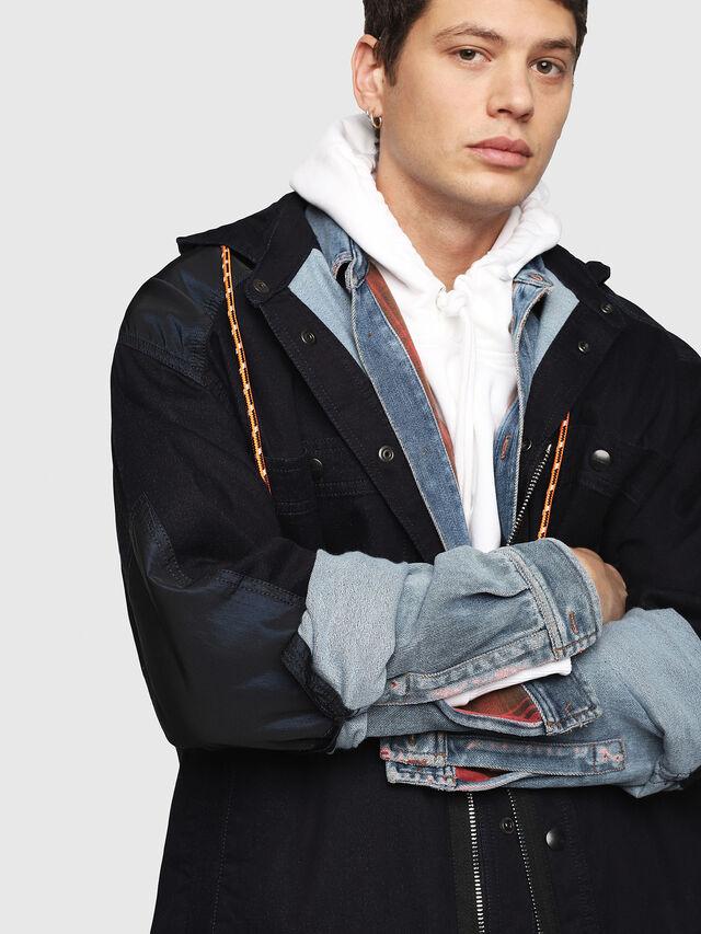 Diesel - D-SIMILAR JOGGJEANS, Blue Jeans - Denim Jackets - Image 3
