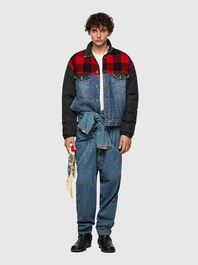 Diesel - DxD-J1, Blue/Black - Denim Jackets - Image 5