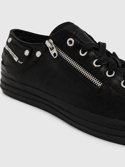 Diesel - EXPO-ZIP LOW, Black - Sneakers - Image 4