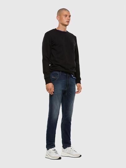 Diesel - Krooley JoggJeans 069NE, Dark Blue - Jeans - Image 5