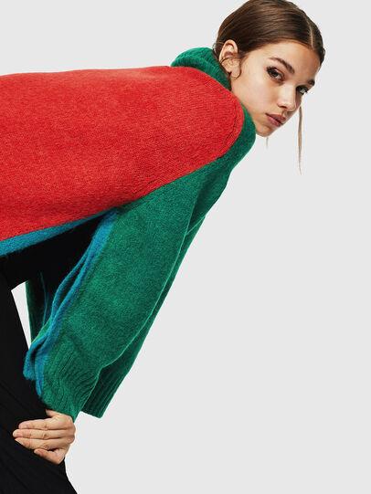 Diesel - M-PERSIA, Green/Red - Knitwear - Image 4