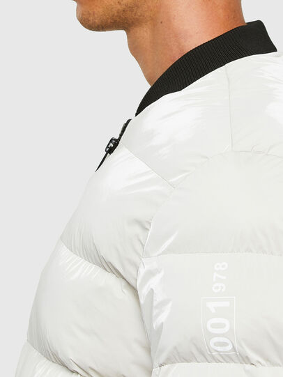 Diesel - W-ON-A, White - Winter Jackets - Image 3
