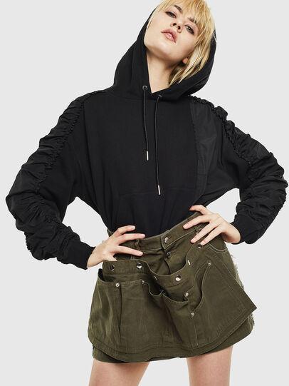 Diesel - F-ALLS, Black - Sweaters - Image 4