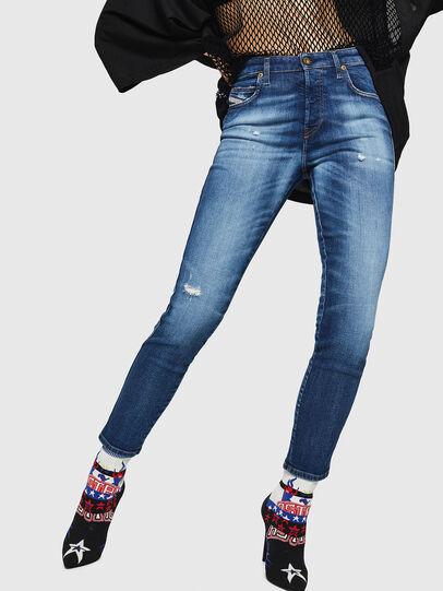 Diesel - Babhila 069FY, Medium blue - Jeans - Image 1