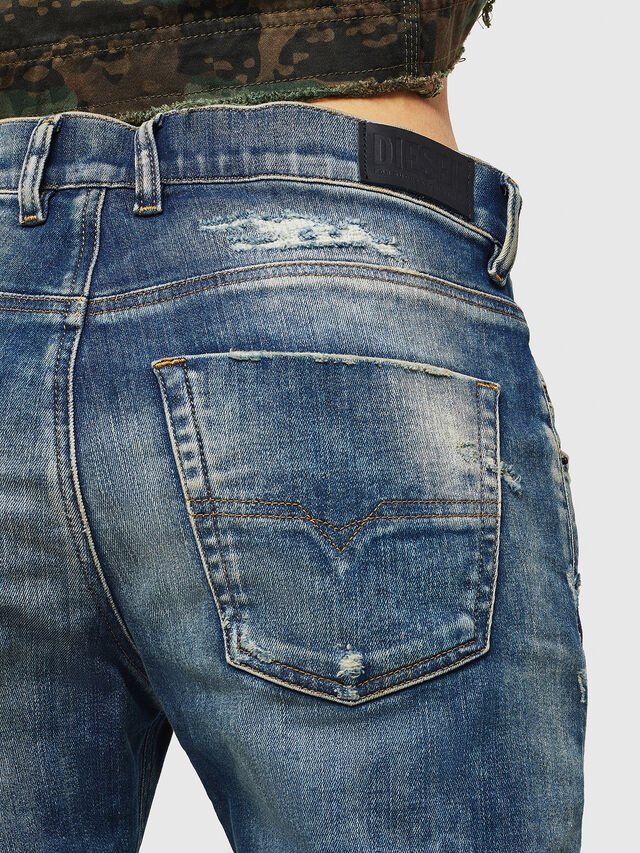 Diesel - Krailey JoggJeans 0870Q, Medium blue - Jeans - Image 5