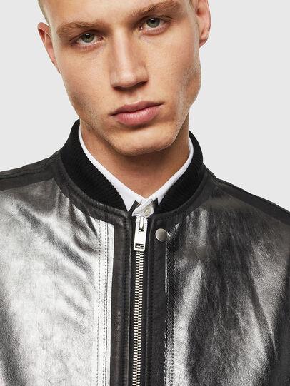 Diesel - L-STEWARD-FOIL,  - Leather jackets - Image 5