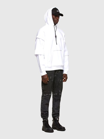Diesel - S-UBBER-A1, White - Sweaters - Image 6