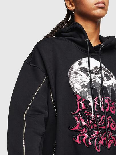 Diesel - F-LUDO, Black - Sweaters - Image 3