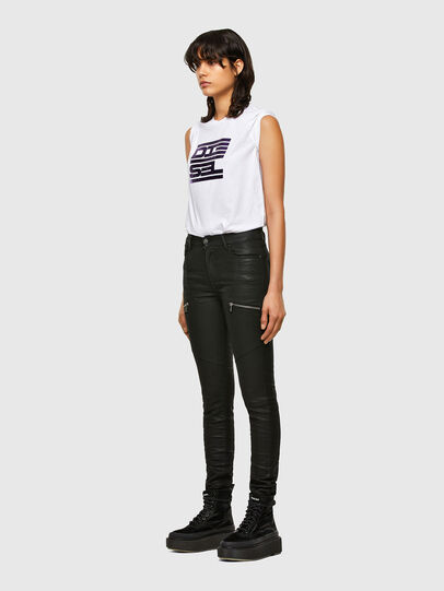 Diesel - T-SILY-K5, White - T-Shirts - Image 4