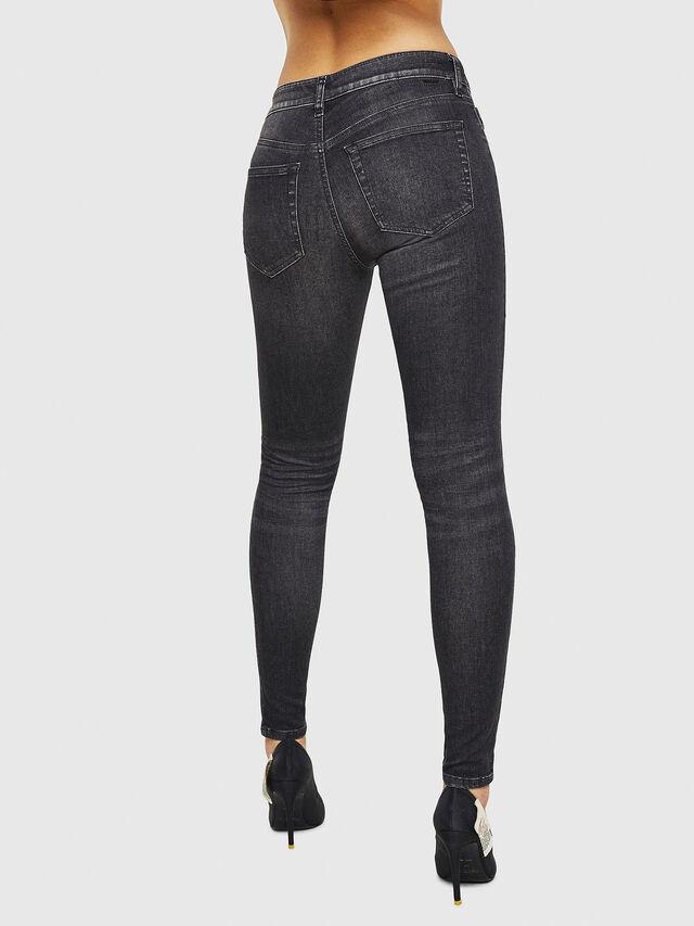 Diesel - Slandy 088AS, Black/Dark grey - Jeans - Image 2