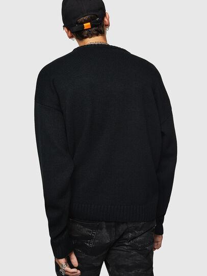 Diesel - K-LOGOX-C, Black - Knitwear - Image 2