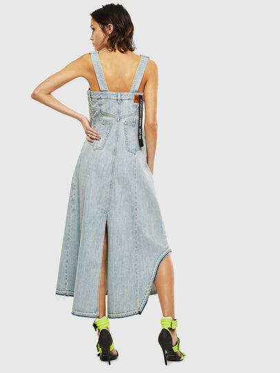 Diesel - DE-FYONA, Light Blue - Dresses - Image 2