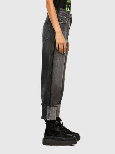 Diesel - D-Reggy 009IL, Black/Dark grey - Jeans - Image 6