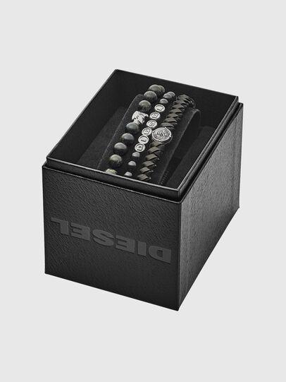 Diesel - BRACELET DX1100, Black - Bracelets - Image 2