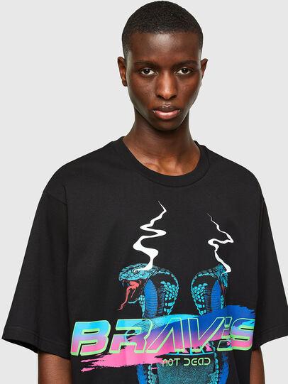 Diesel - T-DELPHI-E1, Black - T-Shirts - Image 3