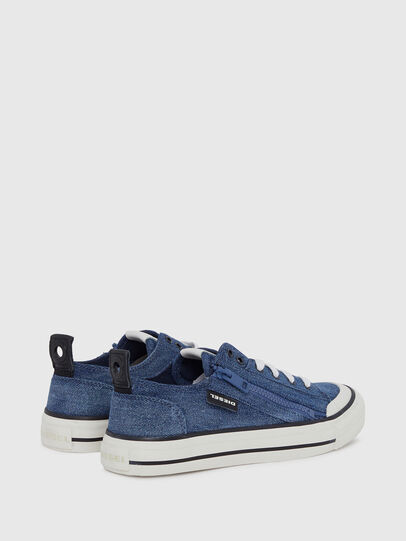 Diesel - S-ASTICO LOW ZIP W, Blue Jeans - Sneakers - Image 3