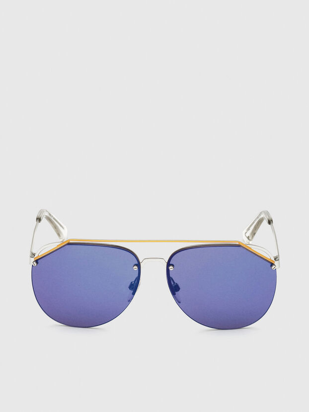 DL0314, White/Blue - Sunglasses