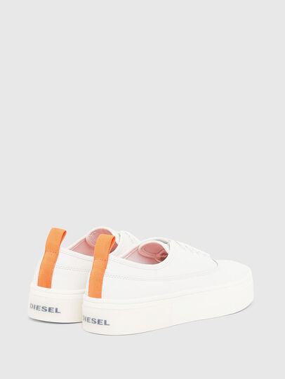 Diesel - S-VANEELA LOW, White/Orange - Sneakers - Image 3