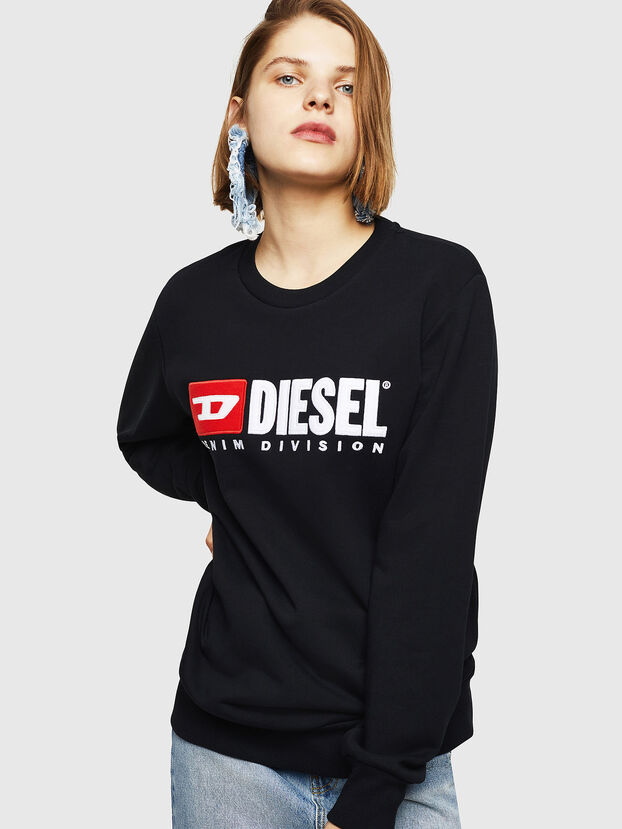 F-GIR-DIVISION-FL, Black - Sweaters