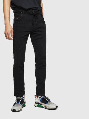 Krooley JoggJeans 0092N, Black/Dark grey - Jeans