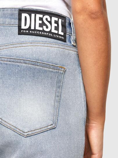 Diesel - D-Joy 009IZ, Light Blue - Jeans - Image 4