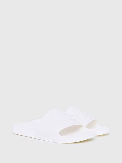 Diesel - SA-MAYEMI, White - Slippers - Image 2