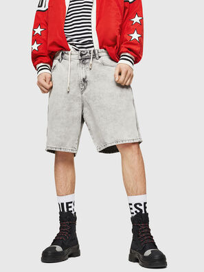 D-WILLOH, Light Grey - Shorts