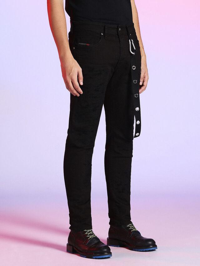 Diesel - LU-THOMMER 0699U, Black Jeans - Jeans - Image 4