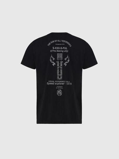 Diesel - T-DIEBIND, Black - T-Shirts - Image 2