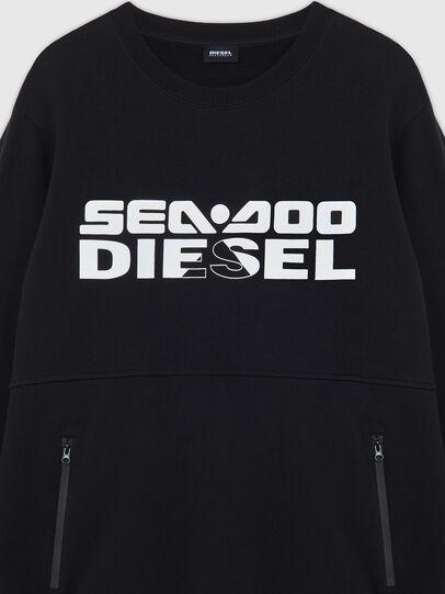 Diesel - BMOWT-ROUNDOO, Black/Orange - Out of water - Image 3
