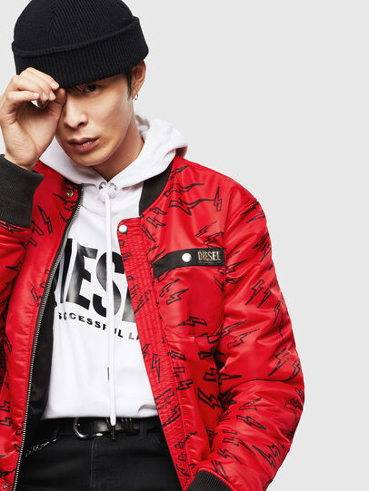 Diesel - CL-J-ROSS-REV-BIGM, Black - Winter Jackets - Image 4