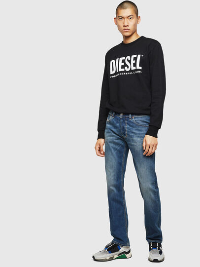 Diesel - Larkee 083AA, Medium blue - Jeans - Image 5