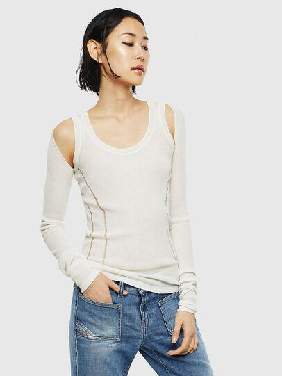 Diesel - K-SIMONA, White - Knitwear - Image 1
