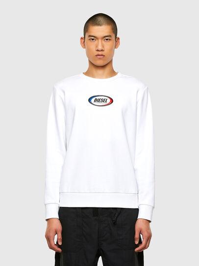 Diesel - S-GIRK-N85, White - Sweaters - Image 1