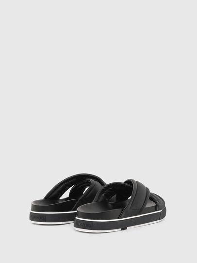 Diesel - SA-GRAND X, Black - Sandals - Image 3