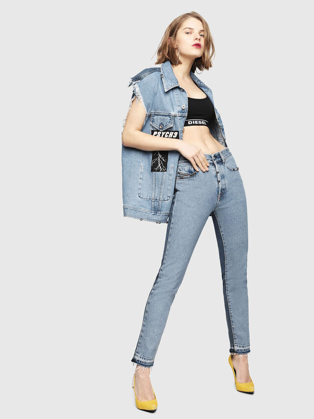 Diesel - Mharky 0077Z, Medium blue - Jeans - Image 8