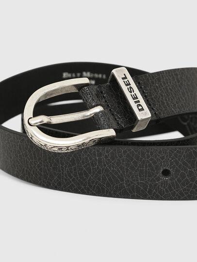 Diesel - B-WORN, Black - Belts - Image 2