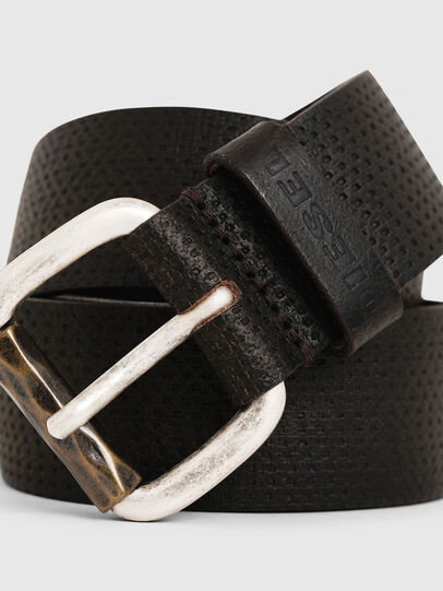 Diesel - B-ROLLY, Dark Brown - Belts - Image 2