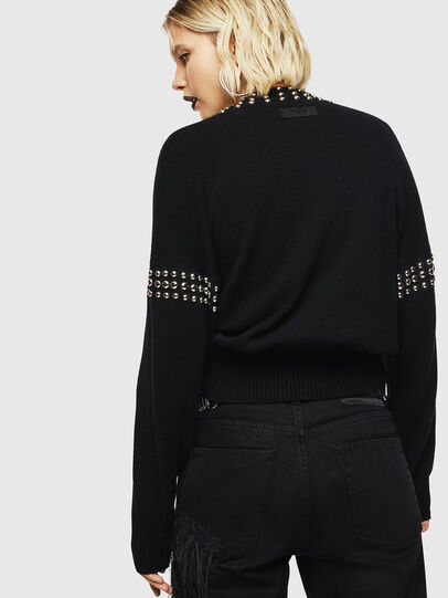 Diesel - M-KRIPX, Black - Knitwear - Image 2