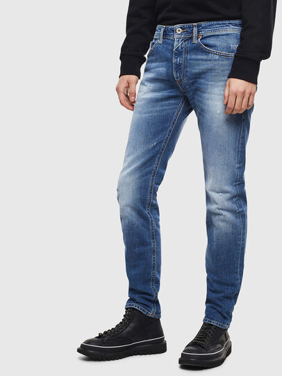Diesel - Thommer 0096D, Light Blue - Jeans - Image 4
