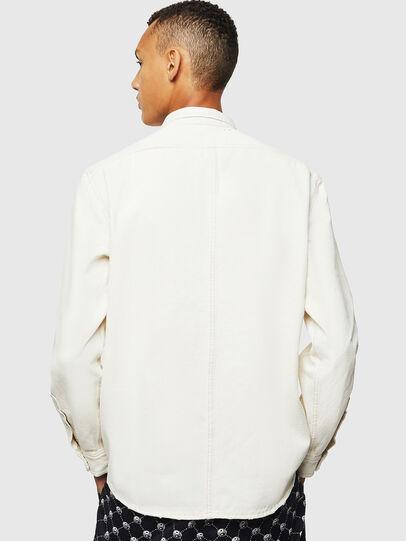Diesel - D-BANDY-B, White - Denim Shirts - Image 2